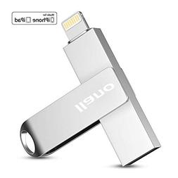 Flash Drive with Lighting for iPhone,iPad and Mac, 64GB Appl