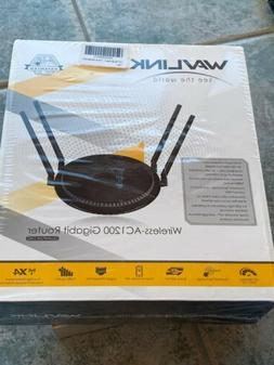 1200Mbps Smart WiFi Router WAVLINK AC1200 Dual-Band Gigabit