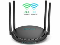 1200Mbps Smart Wifi Router WAVLINK AC1200 Dual Band Gigabit