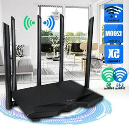 1200mbps wireless smart dual band wifi router