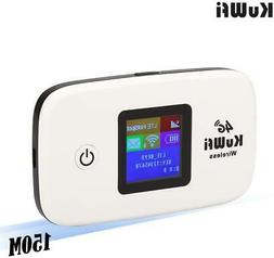 150Mbps 4G Travel Router Mobile Wifi Hotspot With SIM Card S