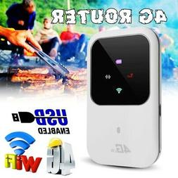 150Mbps Portable 4G WIFI Router SIM LTE Mobile Broadband Hot