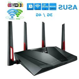 ASUS 2.4G/5GHz 3G/4G Dual Band Wifi Router 3167Mbps Wireless