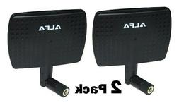 2 Pack of Alfa 2.4HGz 7dBi Booster RP-SMA Panel High-Gain Sc