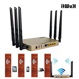 KuWFi Gigabit Router Wireless Router AC 1200Mbps Wireless Gi