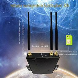 2018 New US VERSION 4G LTE Router, Wireless Industrial Route