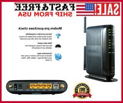 Actiontec 300 Mbps Wireless-N ADSL Modem Router GT784WN 4-Po
