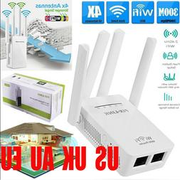 300Mbps Wifi Repeater Wireless AP Router Extender Signal Boo