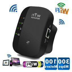 300Mbps Wifi Repeater Wireless-N 802.11 AP Router Extender B