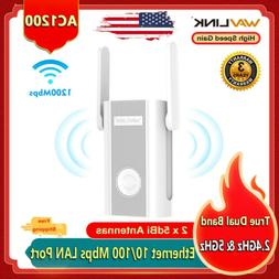 Wavlink 1200Mbps WiFi Repeater & Wireless Range Extender Dua