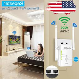 Wavlink 300Mbps Wireless-N WiFi Repeater 2.4GHz Range Extend