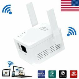 300Mbps Wireless N Wifi Repeater AP Range Router Extender Si