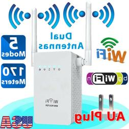 300Mbps Wireless-N WiFi Range Extender Signal Booster Networ