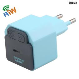 KuWFi 300Mbps Wireless WiFi Repeater 2.4Ghz AP Router 802.11