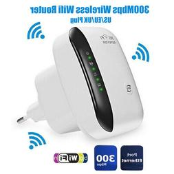 300Mbps Wireless Wifi Router AP Repeater Extender Booster Cl