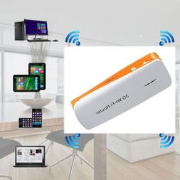 3G Wi-Fi Wireless Router 1800mAh Mobile Power Bank Wireless