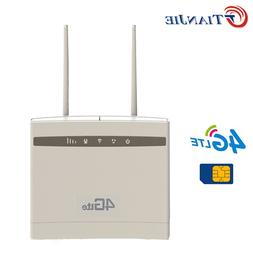 TianJie 4G CPE <font><b>Wifi</b></font> Repeater 300Mbps Wir