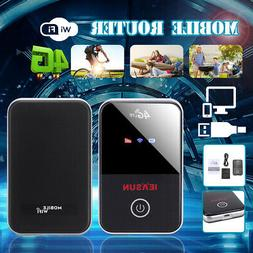 4G LTE WiFi Wireless Portable Router 150Mbps Mobile Broadban