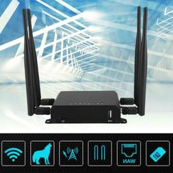 4G LTE Wireless Router Industrial WIFI Router AT&T SIM Card