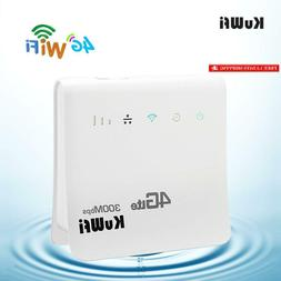 4g wifi router unlocked 300mbps 4g lte
