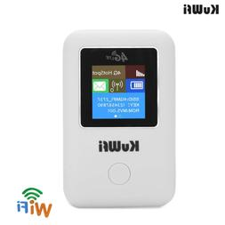 4G WiFi Router,KuWFi Unlocked Pocket 3G 4G WiFi Router with