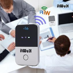 KuWFi 4G WiFi Router Unlocked Travel Partner 4G LTE Wireless