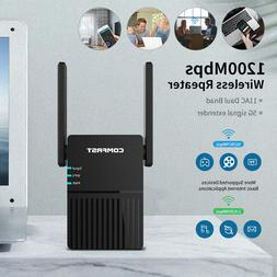 5G 1200Mbps Long Range Dual Band 2.4+5Ghz Wireless Wifi Rout