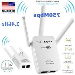 750M Wireless-AC Mini Router Dual Band Wifi Repeater Extende