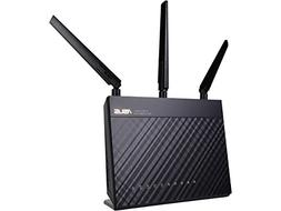 Asus - Wirelessac1900 Dual-band Gigabit Wireless Router - Bl