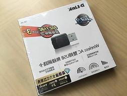 D-Link Wireless Dual Band AC600 MU-Mimo USB Wi-Fi Network Ad
