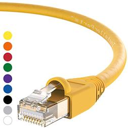 InstallerParts CAT6A Ethernet Cable 15 FT Yellow - UTP Boote