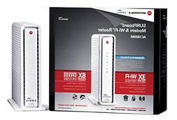 Motorola SURFboard eXtreme  Cable Modem  & Wi-Fi AC Router w