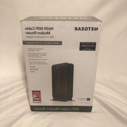 Netgear - N600 Dual-band Wireless-n Router With Built-in Cab