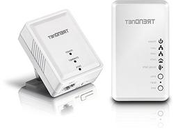 TRENDnet Powerline 500 AV Kit with Wi-Fi Extender, Includes