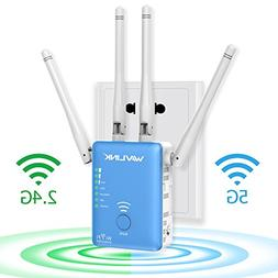 AC1200 Dual Band WiFi Range Extender - Wavlink Wireless Repe