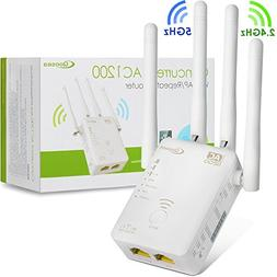 Qoosea WiFi Extender Repeater / Access Point / Router AC1200