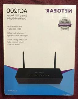 NETGEAR AC1200 Smart WiFi Router, Dual B