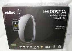 Belkin AC1200 Wi-Fi Dual Band AC+ Router new in box