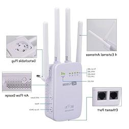 Pix-Link AC1200 WiFi Range Extender Dual Band 1200Mbps Repea