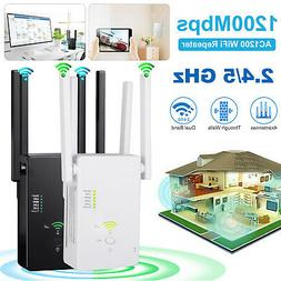 AC1200 WIFI Repeater 2.4G 1200Mbps Router Wireless Range Ext