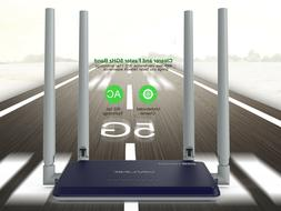 Wavlink AC1200 Wireless Router,Dual Band Router, 4 External