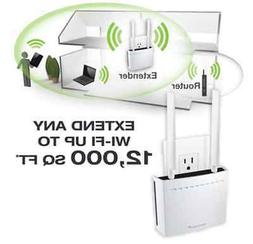 Amped Wireless AC2550 Plug-In Wi-Fi Extender, 800Mbps, Wi Fi