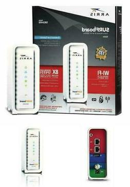 ARRIS Surfboard Docsis 8X4 Cable Modem / Telephone Certified