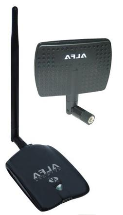 Alfa AWUS036NHA - 500mw -Wireless B / G / N USB Adaptor - 80