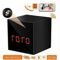 PANORAXY B100V.3 Mini WiFi Hidden Spy Camera, Invisible Lens