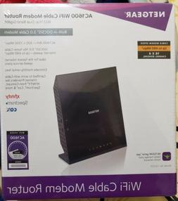 Brand new Netgear AC1600 C6250 WiFi Cable Modem Router - Spe