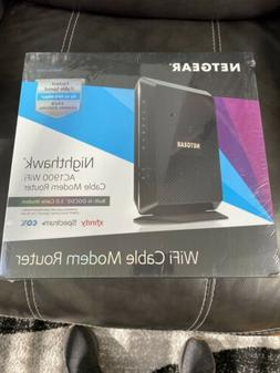NETGEAR Nighthawk WiFi Cable Modem Router Combo  AC1900 DOCS