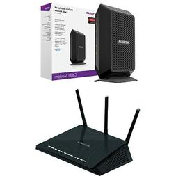 NETGEAR CM700 32x8  DOCSIS 3.0 Cable Modem  Bundle with NETG