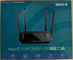 D-Link AC1200 Wireless WiFi Router Smart Dual Band MU-MIMO