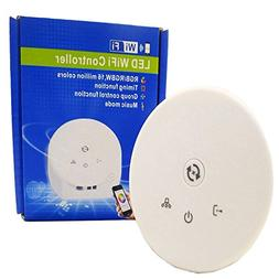 RGBZONE DC 12V 24V Magic UFO LED WIFI Controller for RGBW RG